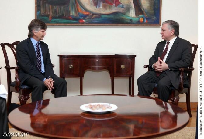 Հայաստանի արտգործնախարարը ընդունեց ներքին տեղահանված անձանց իրավունքների հարցերով ՄԱԿ-ի գլխավոր քարտուղարի հատուկ ներկայացուցչին