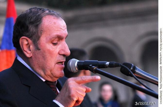 Լևոն Տեր-Պետրոսյանի ելույթը նոյեմբերի 9-ի հանրահավաքում