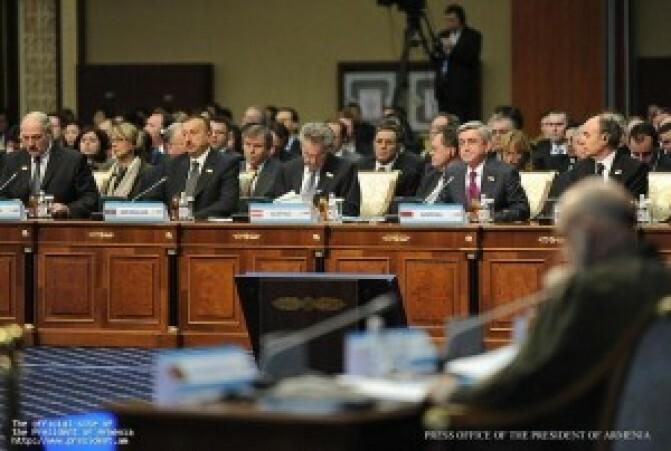 Սարգսյան-Ալիեւ հանդիպումը չի կայացել. Ալիեւը հայտարարել է, թե Հայաստանը փորձում է «իմաստազրկել խաղաղ բանակցային գործընթացը »