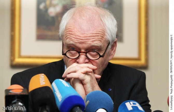 """Թոմաս Համարբերգ.""""Առավել մեծ ջանքեր պետք է գործադրվեն 2008թ.-ի մարտի վերքերը բուժելու և մարդու իրավունքների պաշտպանությունն ամրապնդելու համար"""""""