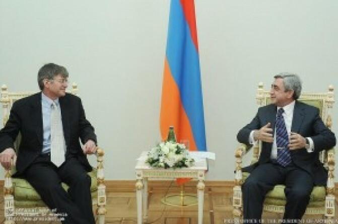 ԱՄՆ փոխպետքարտուղարը հանդիպել է Սերժ Սարգսյանին, իսկ ԱԳ նախարարին` ոչ