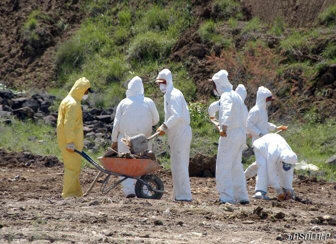 600 տոննայանոց ռումբ. բնապահպաններն ահազանգում են Նուբարաշենի թունաքիմիկատների գերեզմանոցի խիստ մտահոգիչ վիճակի մասին