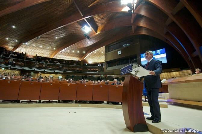 Սերժ Սարգսյանը ԵԽԽՎ-ում խոսեց ներքաղաքական զարգացումներից, ԼՂ հարցից եւ հայ-թուրքական հարաբերություններից