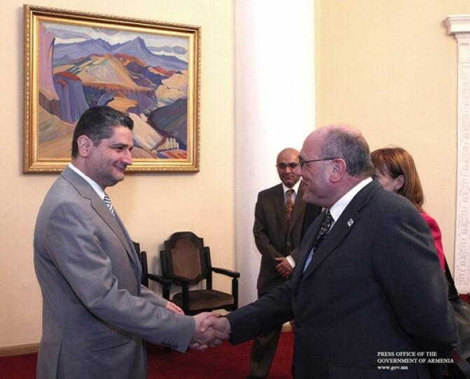 Ընդդեմ փողերի լվացման և ահաբեկչության ֆինանսավորման. վարչապետը հանդիպել է «Էգմոնտ» խմբի ներկայացուցիչների հետ