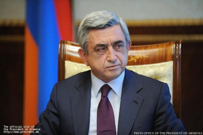 Սերժ Սարգսյան. Ընդդիմությունը մեր երկրի եւ մեր ժողովդրավարության ձեռքբերումն է