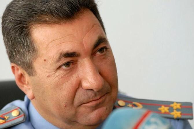 Ձերբակալվել է «Ճանապարհային ոստիկանության»  ծառայության պետ Մարգար Օհանյանը