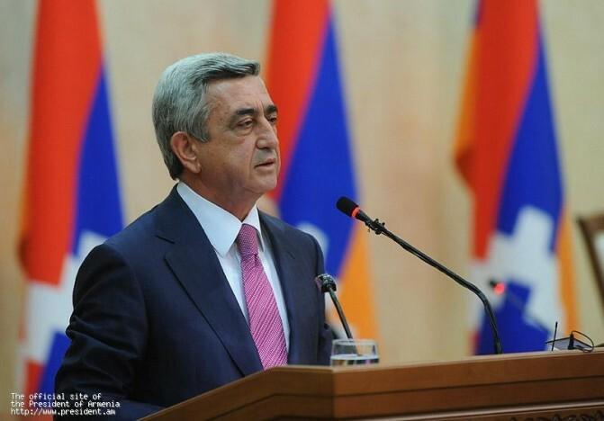 Սերժ Սարգսյանի շնորհավորական խոսքը` ԼՂՀ անկախության 20-ամյակի առթիվ