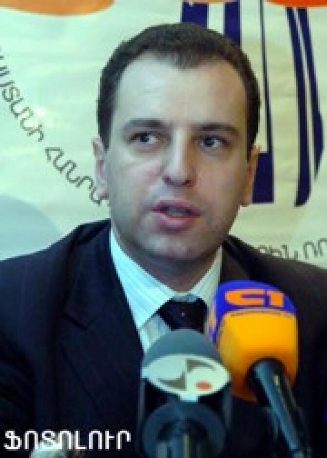 Վիգեն Սարգսյանը նշանակվել է նախագահի աշխատակազմի ղեկավար