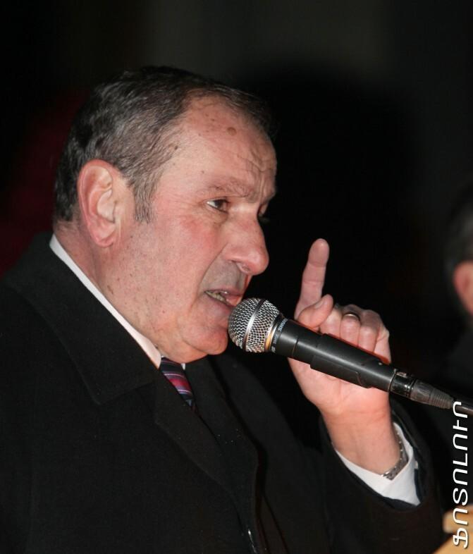 Լևոն Տեր Պետրոսյանի ելույթը 2011թ նոյեմբերի 25-ի հանրահավաքում
