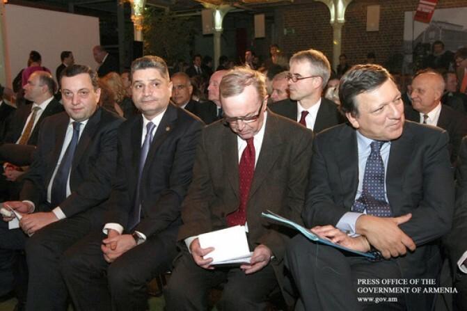 Տիգրան Սարգսյանը Բրյուսելում մասնակցում է ԵԺԿ-ի համաժողովներին