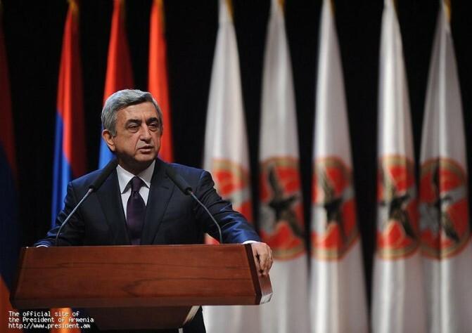 Սերժ Սարգսյանի ելույթը ՀՀԿ 13–րդ համագումարում