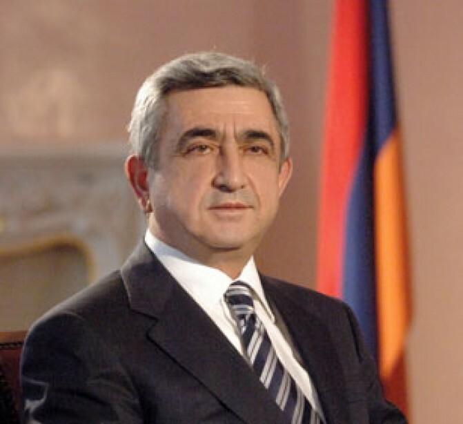 Սերժ Սարգսյանը շնորհավորական ուղերձ է հղել Վլադիմիր Պուտինին` ՌԴ նախագահի պաշտոնում ընտրվելու կապակցությամբ