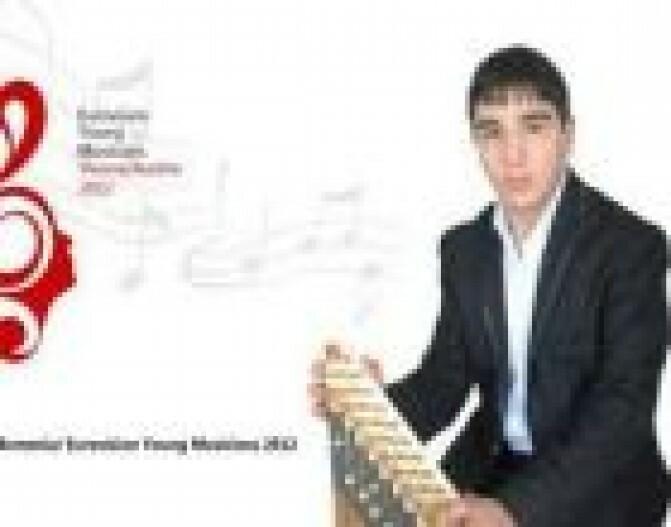 Քանոնահար Նարեկ Կազազյանը «Պատանի Երաժիշտների Եվրատեսիլ -2012» մրցույթում գրավել է երրորդ տեղը