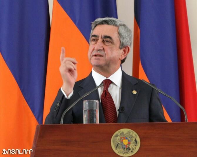 «Ժողովուրդ». Սերժ Սարգսյանը զայրացել է ՀՀԿ-ականների վրա