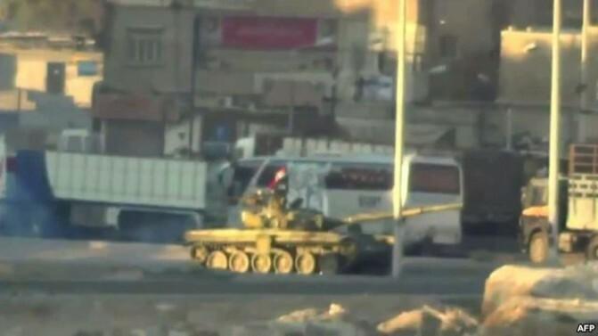 Սիրիայի կառավարական ուժերը վերսկսել են հարձակումները Դամասկոսում