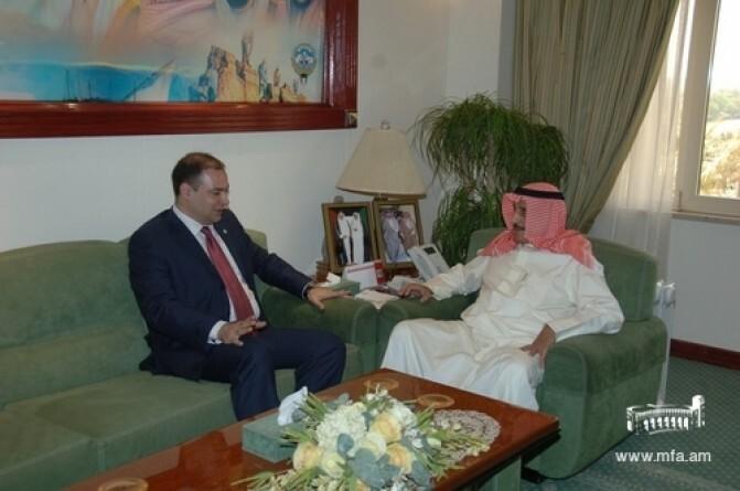 Դեսպան Չարչօղլյանի հանդիպումը ալ-Ահմադի նահանգապետի հետ