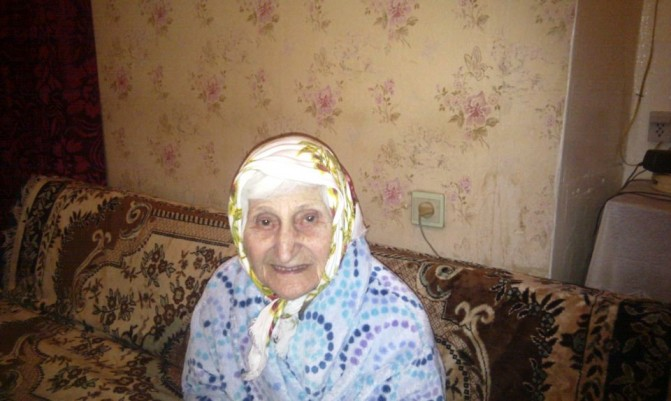 «Ընտրությո՞ւն, ի՞նչ ընտրություն». 99-ամյա Համասփյուռ Ազիզյանն ասում է, որ սիրում է կյանքը