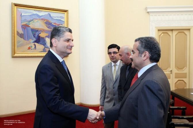 Վարչապետն ընդունել է Քուվեյթի ազգային լրատվական գործակալության նախագահին