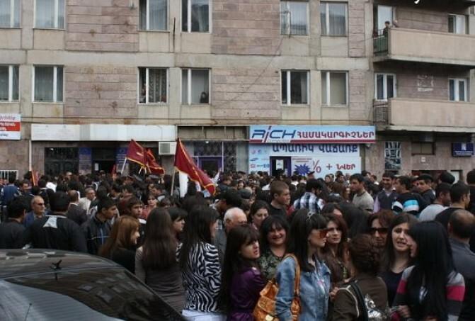 Հայաստանի Հանրապետությունում խախտվում է միավորումների և արտահայտման ազատության իրավունքը