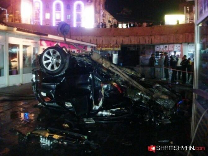 26-ամյա երիտասարդը BMW-ով հայտնվել էր Գարեգին Նժդեհի մետրոյի գետնանցումում