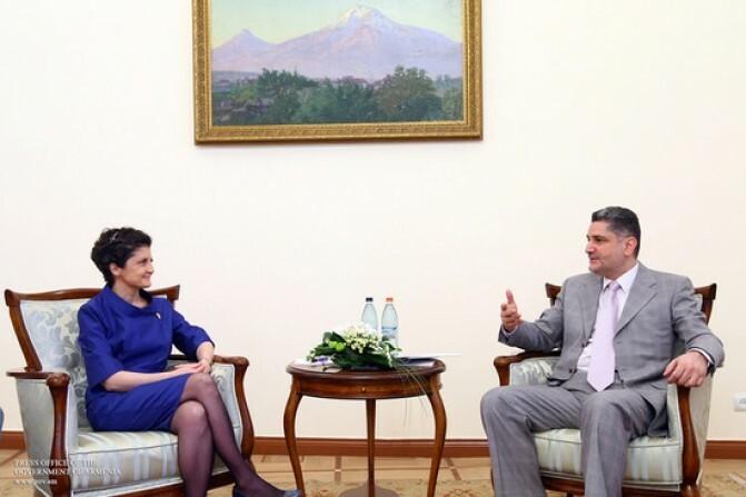 Քննարկվել են արդարադատության ոլորտում հայ-վրացական փոխգործակցության ամրապնդման քայլերը