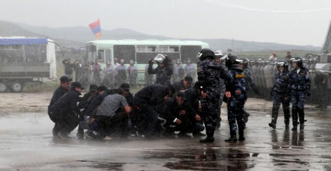 Հրամանատարաշտաբային զորավարժություններ «Արզնի» օդանավակայանի տարածքում