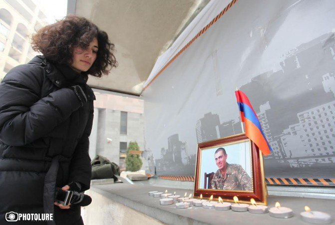 Պատերազմի արագաչափ. մնաց Արմեն Հովհաննիսյանի երիտասարդ կյանքը