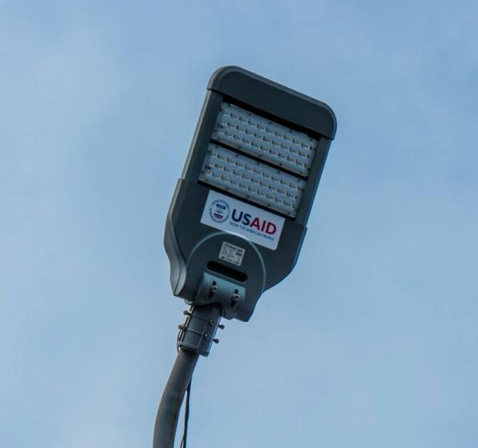 Դարբաս գյուղում տեղադրվել է փողոցային լուսավորության էներգաարդյունավետ համակարգ