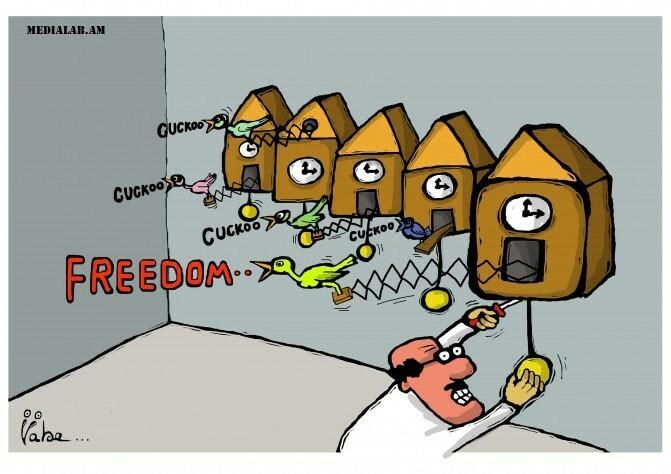 Սահմանափակումներ եւ գրաքննություն.  Մաքսային միությունում մամուլի ազատության վիճակը նախանձելի չի լինի