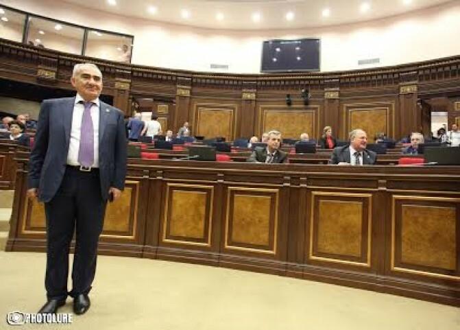 ԱԺ նոր նախագահը` Գալուստ Սահակյան