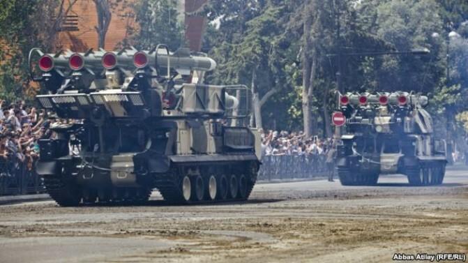 Ադրբեջանը զորավարժություն է անցկացնում «ճակատային գծում». «Ազատություն»