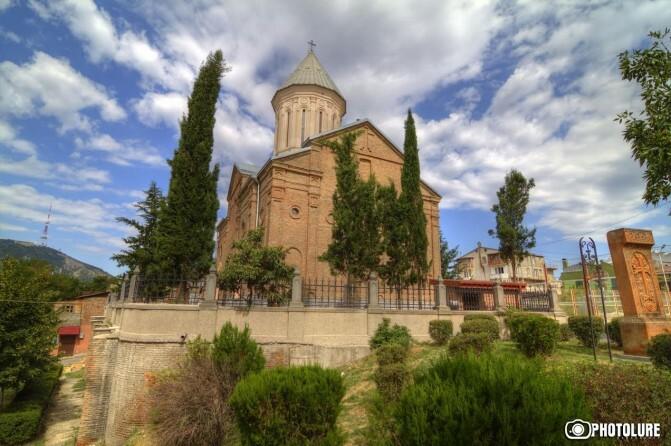 Հարձակում Թբիլիսիի հայկական եկեղեցու վրա