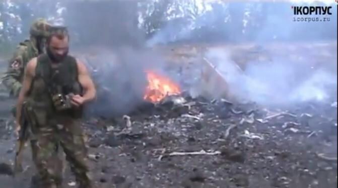 Ռուսամետ զինյալները քիչ առաջ կործանել են երկու Су-25 ինքնաթիռ (Տեսանյութ)