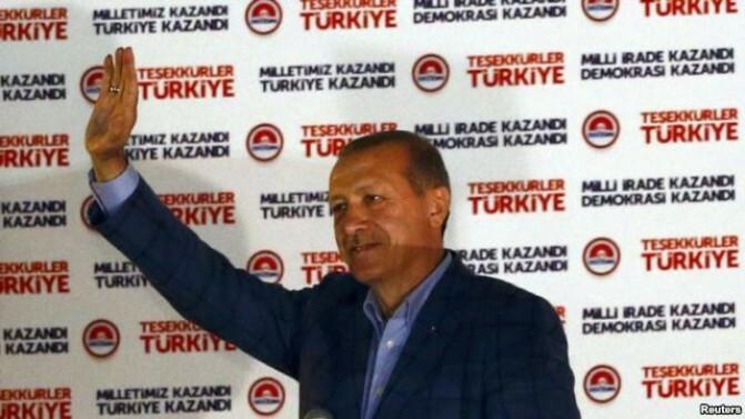 Ռեջեփ Էրդողանը՝ Թուրքիայի 12-րդ նախագահ