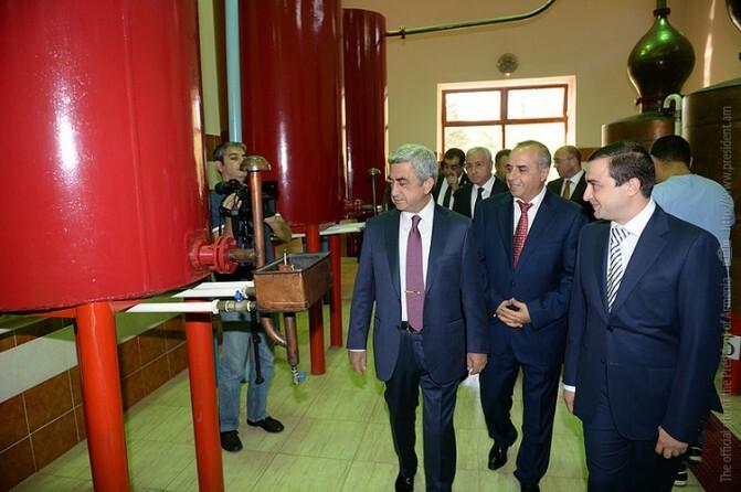 Սերժ Սարգսյանն այսօր աշխատանքային այցով մեկնել է Արմավիրի մարզ
