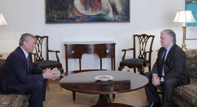 ՀՀ ԱԳ նախարարն ընդունեց ՀԱՊԿ գլխավոր քարտուղարին