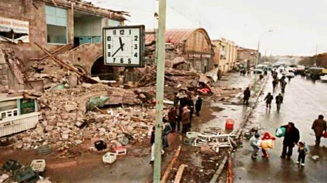 Հայաստանի Հանրապետության երկրորդ քաղաքը միայն ռազմակայան չէ. երկրաշարժի 26-րդ տարելիցի առիթով