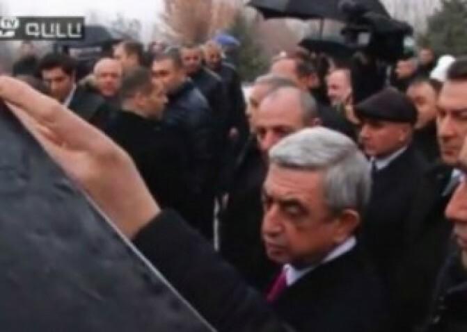 «Իյա՜, իրո՞ք». Սերժ Սարգսյան. «ԳԱԼԱ»