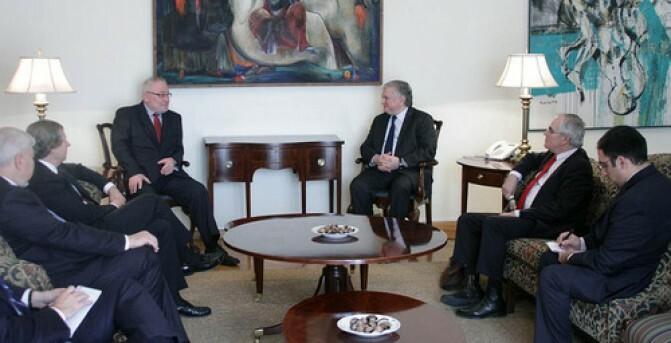 Հայաստանի արտաքին գործերի նախարարն ընդունեց ԵԱՀԿ Մինսկի խմբի համանախագահներին