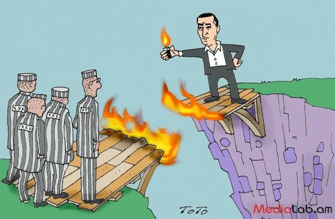 Ռուստամյանները իրենց հետևից այրում են քաղբանտարկյալների կամուրջը