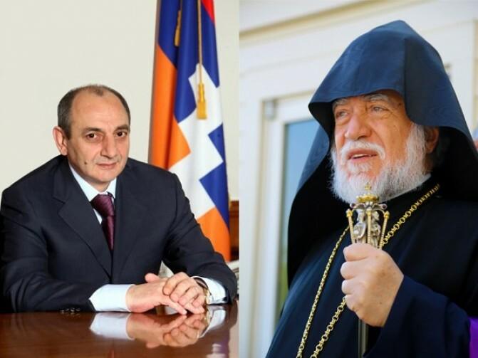 ԱՐԱՄ Ա կաթողիկոսը իր ամբողջական զորակցությունն է հայտնել ԼՂՀ նախագահին