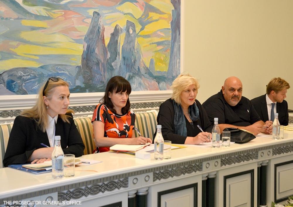 ՀՀ գլխավոր դատախազի տեղակալները հանդիպել են Եվրոպայի խորհրդի մարդու իրավունքների հանձնակատար Դունյա Միատովիչին