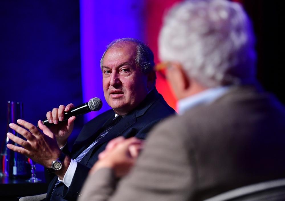 Արմեն Սարգսյանը մասնակցել է Մտքերի գագաթնաժողովին (Summit of Minds)