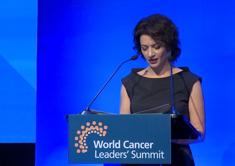 «Ես բացահայտեցի, որ քաղցկեղը սարսափելի չէ»․Աննա Հակոբյանի ելույթը՝ Քաղցկեղի համաշխարհային առաջնորդների գագաթնաժողովին