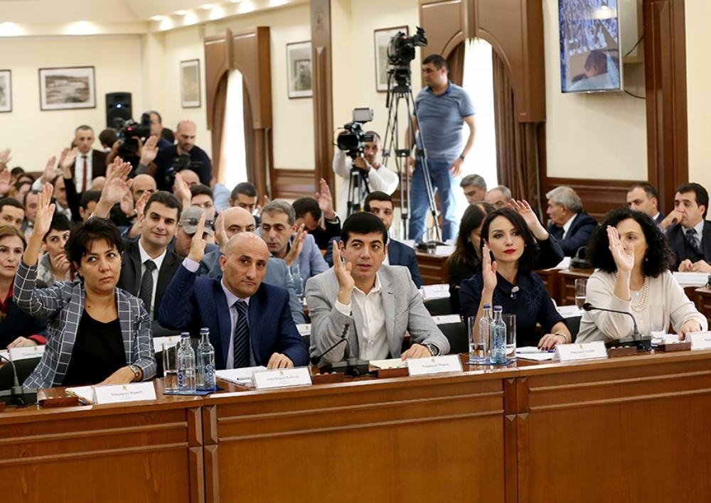 Երեւանի ավագանու հանձնաժողովների նախագահներ են ընտրվել