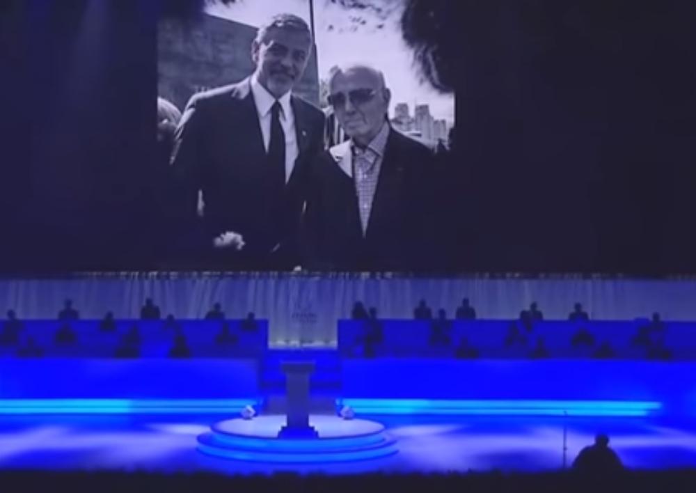 Ֆրանկոֆոնիայի գագաթնաժողով. Հարգանքի տուրք Շառլ Ազնավուրին