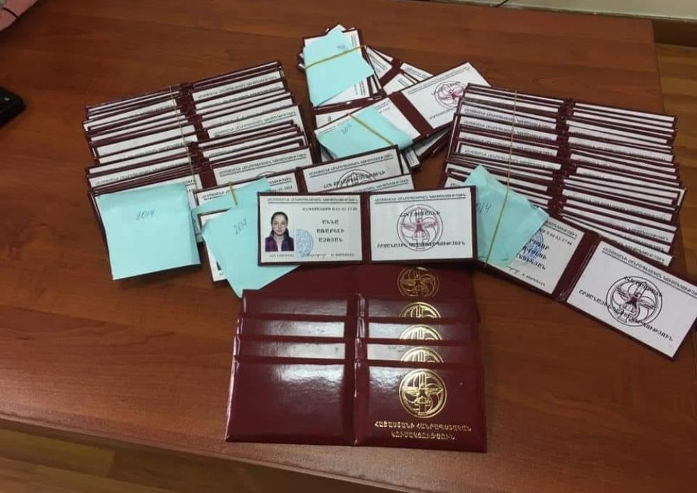 ԵՊԼՀ նախկին ուսանողական խորհրդի չհրկիզվող պահարանից ՀՀԿ-ի 52 տոմս է հայտնաբերվել. «Ռեստարտ»