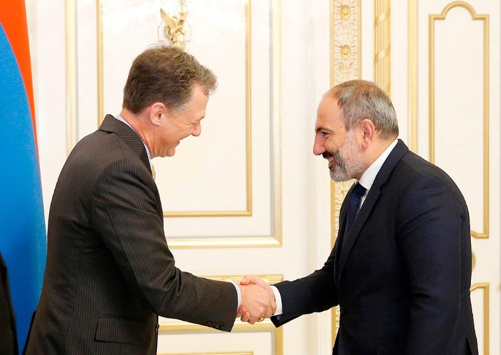 Վարչապետն ընդունել է ԱՄՆ պետքարտուղարի՝ Եվրոպայի և Եվրասիայի հարցերով փոխտեղակալին