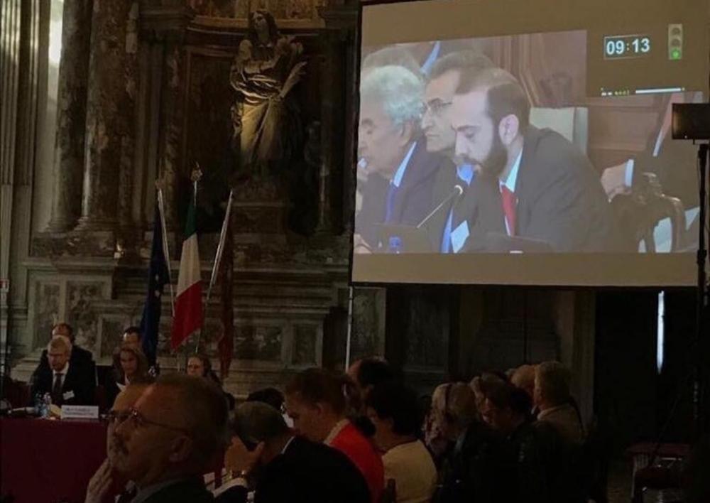 Արարատ Միրզոյանի ելույթը Վենետիկի հանձնաժողովի 116-րդ լիագումար նիստին
