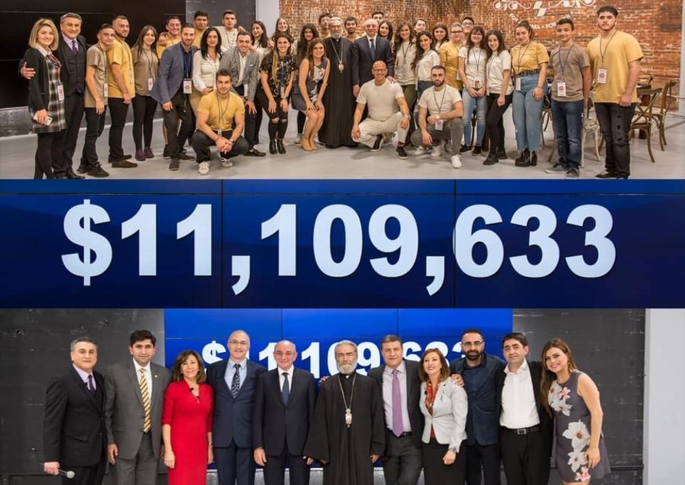 «12 ժամ միասնաբար հավաքել ենք 11 մլն 109 հազար 633 դոլար». Հիմնադրամ